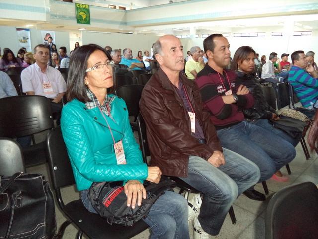 Jurema, Vicente, Natanael e Andreia no Congresso