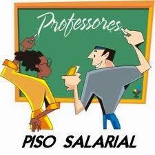 Resultado de imagem para piso salarial de professores