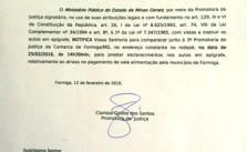 Ofício da promotora enviado ao Sintramfor. Clique para ler