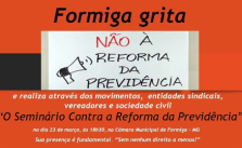 Seminario Reforma da Previdencia