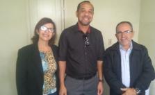 Denise, Natanael e Jose Geraldo