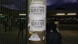 Minas Gerais Estação do metrô está fechada no bairro Eldorado, em Contagem, na Grande BH -Foto Alex Araújo G1