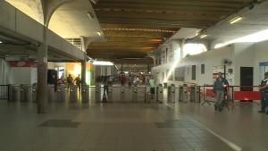 Pernambuco Estação Central do Metrô, no bairro de São José, área central do Recife, tem movimentação reduzida nesta sexta-feira (14) - Foto Reprodução TV Globo