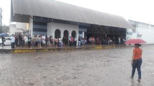 Rio Grande do Norte Terminal de Felipe Camarão ficou lotado de pessoas aguardando ônibus - Foto Ednaldo LimaInter TV Cabugi